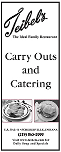 Teibel's is the best restaurant in Schererville for Carry Out – Check out our Carry Out menu here
